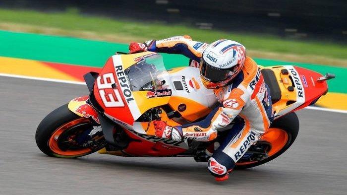 Pantas Dijuluki 'Sachsenk11ng', Marquez Catatkan 11 Kemenangan Berturut-turut di Sirkuit Sachsenring