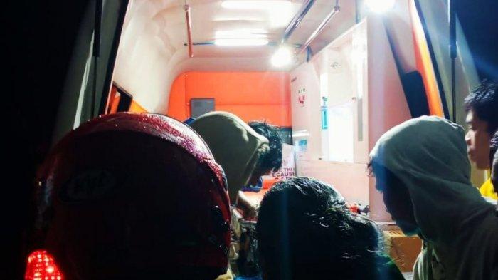Korban Kebakaran Pasar Baru Sangalla Tana Toraja Dilarikan ke Rumah Sakit