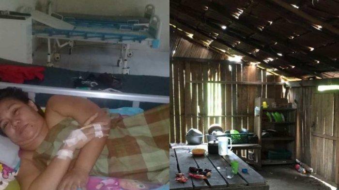 Kisah Pilu Marlina, Warga Mamuju Tengah Menahan Sakit di Rumah Tak Layak Huni