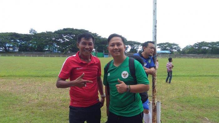 Pulang Kampung, Marwal Iskandar Eks PSM Motivasi Pemain Muda se-Luwu Raya
