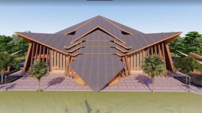 Besok, Masjid Agung Kampus II UIN Alauddin Makassar Difungsikan
