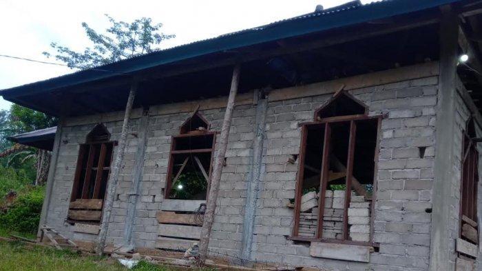 Dibangun Tahun 2011, Masjid di Pelosok Wasuponda Luwu Timur Belum Rampung