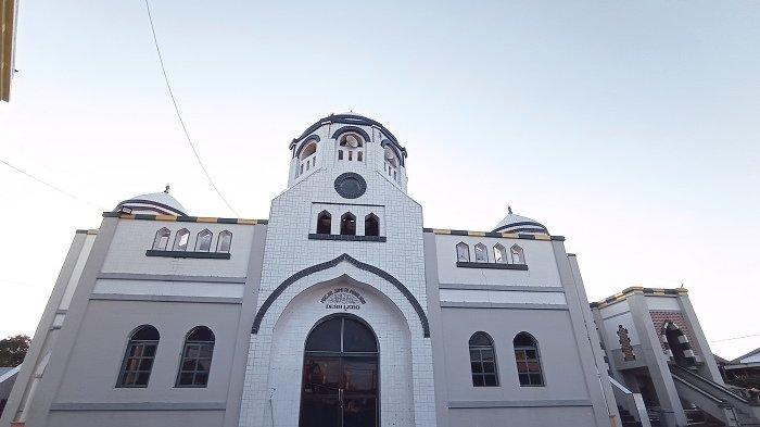 Unik, Masjid Jami Al Muhajirin di Desa Ujung Lero Pinrang Punya 25 Kubah
