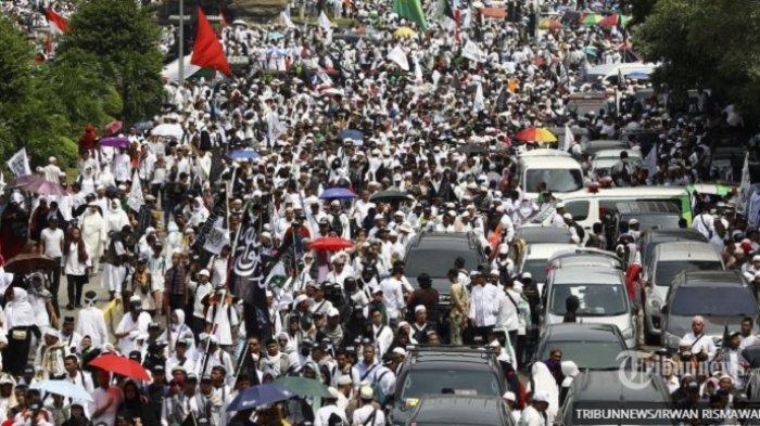 Susunan Acara Reuni 212 & Daftar Tokoh Sambutan Habib Rizieq Shihab Pidato Sebelum Anies Baswedan