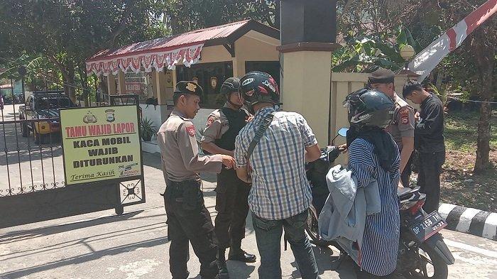 Polres Enrekang Perketat Penjagaan di Area Mako Pascainsiden Bom Bunuh Diri di Medan