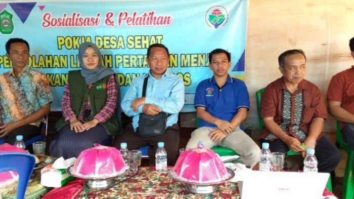 Mahasiswa Unhas Beri Pelatihan Soal Pengelolahan Limbah Pertanian di Takalar