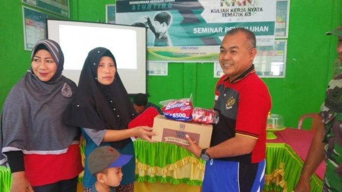 Mahasiswa KKN UMI Gelar Penyuluhan Stunting di Desa Coppo Tompong