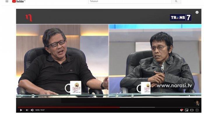 Penonton di Studio Mata Najwa Tertawa Terbahak-bahak Saat Adian Napitupulu Tanggapi Rocky Gerung