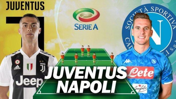 Tag Live Streaming Juventus Vs Napoli Live Di Bein Sports 2 Streaming Di Maxstream Juventus Vs Napoli Jam 23 00 Wib Susunan Pemain Tribun Timur
