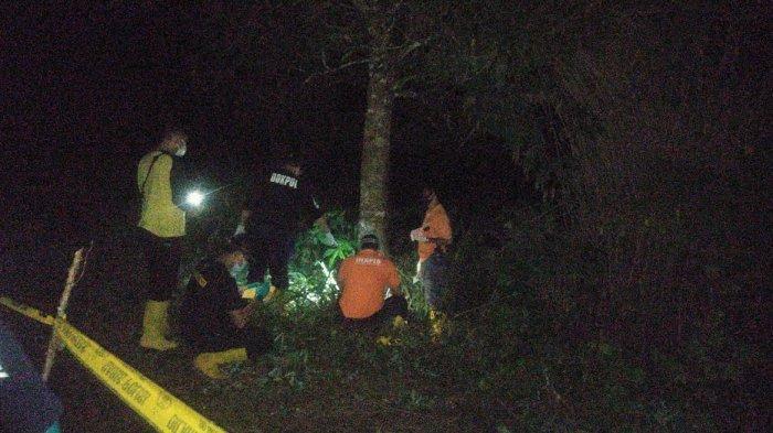 Ada Bercak Darah Disekitar Lokasi Penemuan Mayat Dalam Karung di Gowa, Korban Dibunuh?