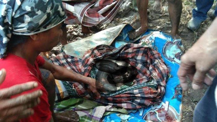 Tak Dikenali, Mayat Ditemukan di Sungai Sapanang Jeneponto Dievakuasi ke RSUD Latopas