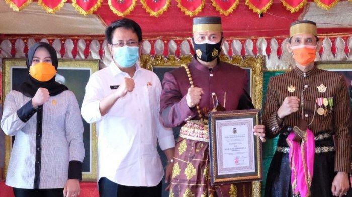 Kunjungi Gowa, Pangdam XIV Hasanuddin Mayjen TNI Andi Sumangerukka Digelari Karaeng Tonang