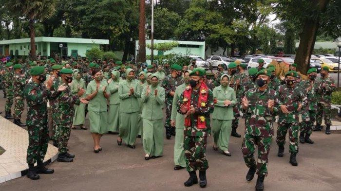 Jabat Pangdam XIV Hasanuddin, Begini Penyambutan Mayjen TNI Mochamad Syafei Kasno di Makassar