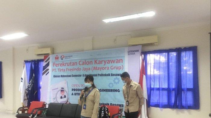Mayora Group Nilai Mahasiswa dan Alumni Politeknik Bosowa Sangat Berkompeten