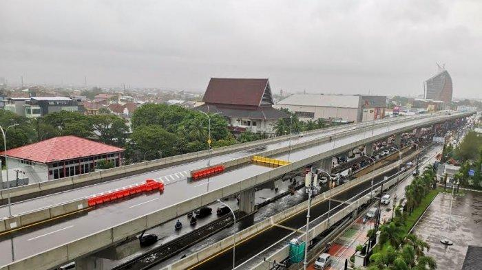 Megaproyek Jalan Tol Layang Pettarani Makassar