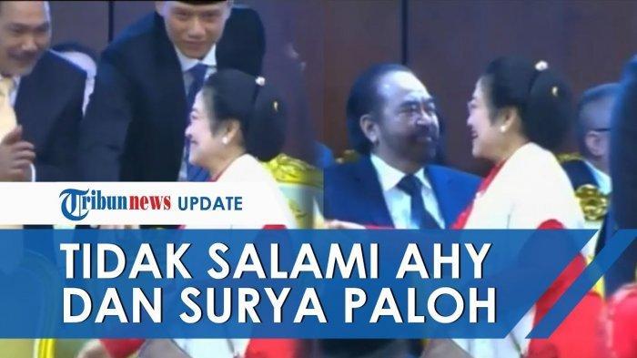 Bandingkan Reaksi Surya Paloh dengan Tanggapan Kubu AHY Seusai 'Dipermalukan' Megawati