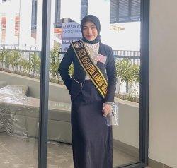 Meira Varda Ananti Delegasi UMI di Pemilihan Duta Kampus Sulsel, Angkatan 2019 di Fakultas Hukum