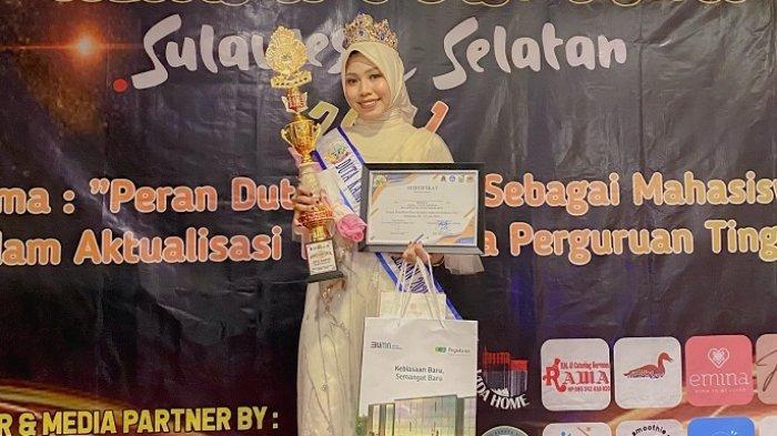 Profil Lengkap Meira Varda Ananti, Mahasiswi UMI Juara 1 Duta Kampus Sulsel 2021 Kategori Putri