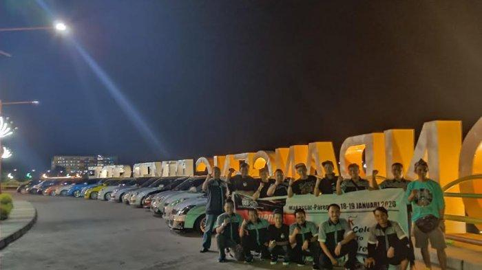 Rekreasi dan Eksplor Wisata, SCI Celebes Gelar Touring ke Parepare
