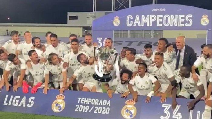 Barcelona Tersungkur, Inilah 3 Klub yang Bantu 'Muluskan' Real Madrid Juara La Liga 2019/2020