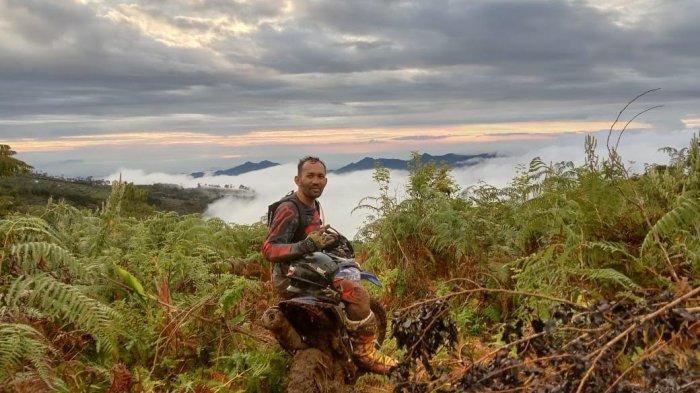 Serunya Mendaki Puncak Bawakaraeng Bareng Yamaha WR 155