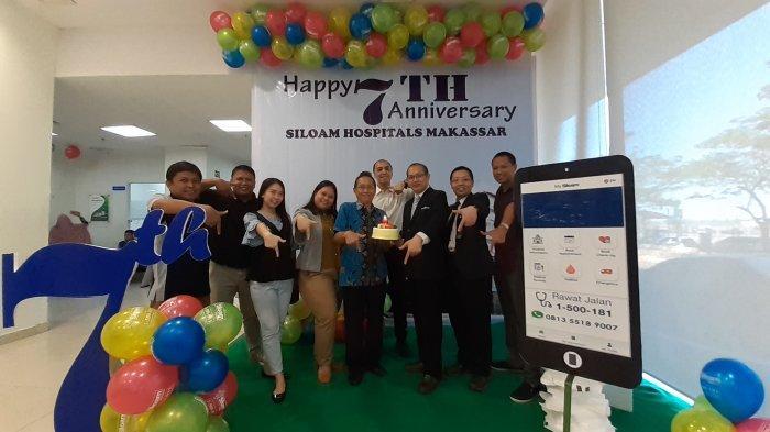 Ucapkan Selamat Ulang Tahun Manajemen Tribun Timur Sambangi RS Siloam Makassar