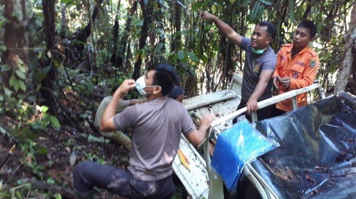 Kronologi Laka Tunggal Poros Palopo - Toraja, Sopir Tewas di Tempat