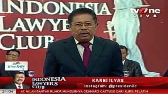 Mengapa Host ILC TV One Karni Ilyas Diperiksa atas Kasus Lahan yang Rugikan Negara 3 Triliun di NTT?