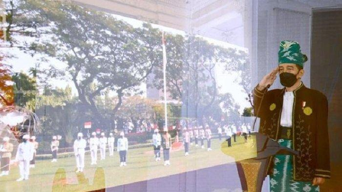 Mengenal Baju Adat Tanah Bumbu Dipakai Presiden Jokowi Upacara Hari Lahir Pancasila 1 Juni Hari Ini