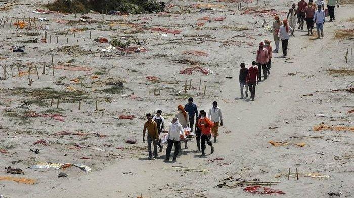 Makin Ngeri, Kasus Kematian Akibat Covid-19 di India Capai 6.000 Orang Sehari