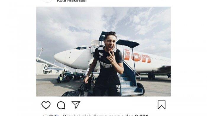 Marc Klok Tulis Sampai Jumpa di Akun Instagram