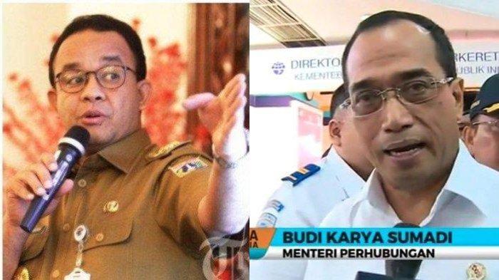 Menhub Budi Karya Kritik Kebijakan Anies Baswedan, Sebut Percuma Minta Aturan SIKM Jakarta Dicabut