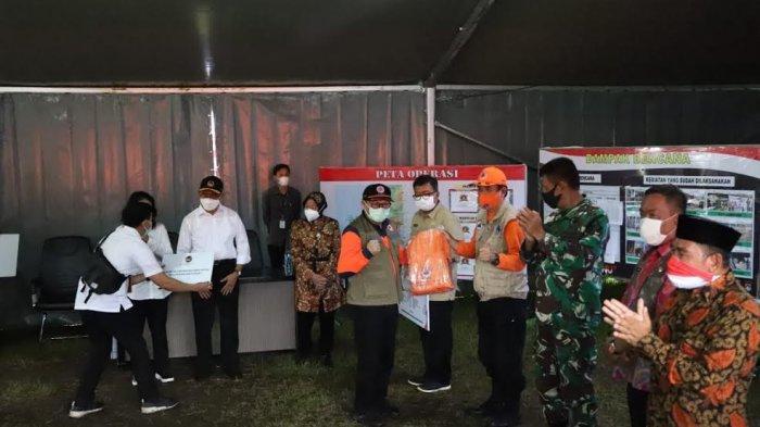 Tiga Menteri Jokowi Kunjungi Korban Gempa di Malunda Majene