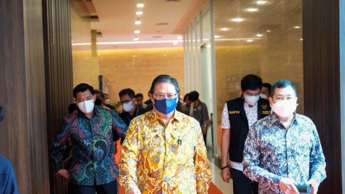 Cegah Biopolitik Vaksin, Menko Airlangga Ingatkan Pentingnya Vaccine Nationalism Dalam Negeri