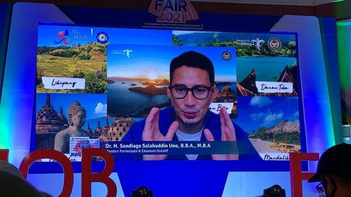 Menparekraf Sandiaga Uno Harap Lulusan Poltekpar Makassar Langsung Ciptakan Lapangan Kerja