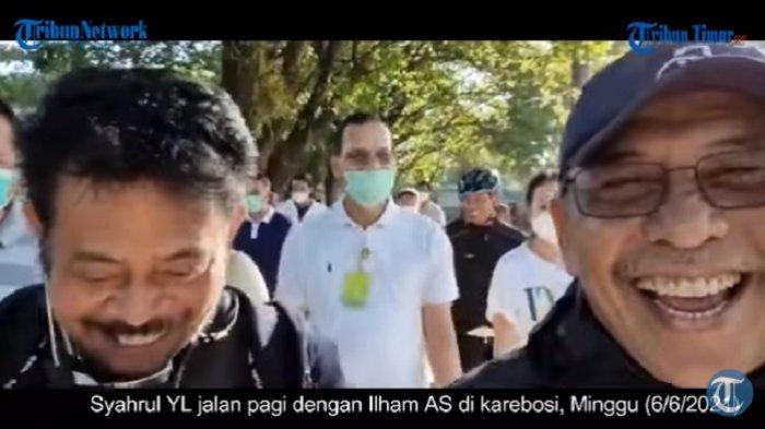 Lama Bersahabat Inilah Keakraban Menteri Pertanian Syahrul YL dan IAS, 'Masih Suka yang Muda-muda'