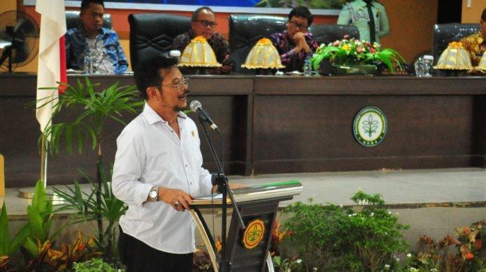 Kuliah Umum di Polbangtan, Mentan Syahrul Minta Mahasiswa Kenali Teknologi