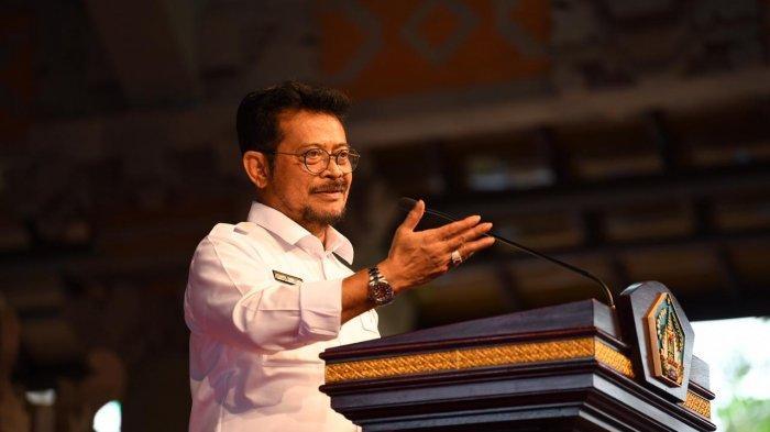 Menteri Pertanian Syahrul Yasin Limpo Menteri Berkinerja Baik