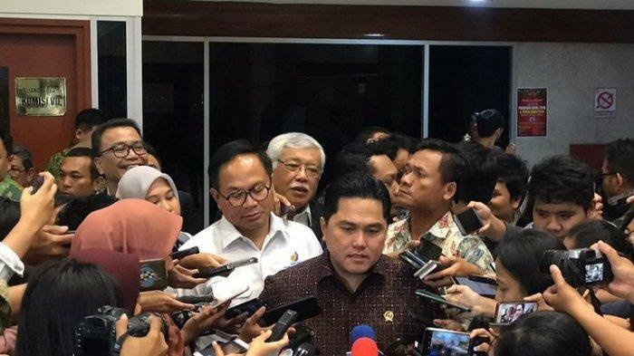 Menteri Erick Thohir Mau Tutup Telkom? 'Mendingan Enggak Ada Telkom Langsung Aja Telkomsel ke BUMN'