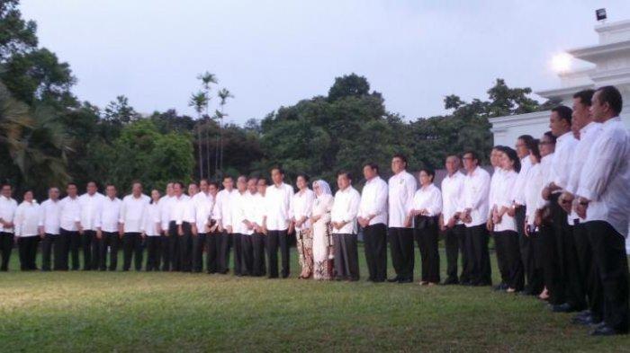 Beredar Nama Calon Menteri Kabinet Jokowi - Maruf Amin, Termasuk Erick Thohir, Ini Respon 4 Petahana