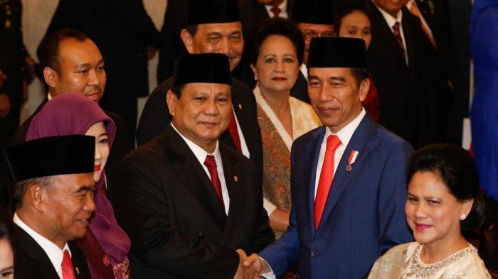 Siapa Menteri Kabinet Jokowi Di-reshuffle? Lihat Survei Prabowo, Erick Thohir, Mahfud MD, Nadiem