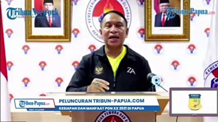 Menpora Apresiasi Hadirnya Tribun-Papua.com, Berperan Penting dalam Penyampaian Informasi PON 2021
