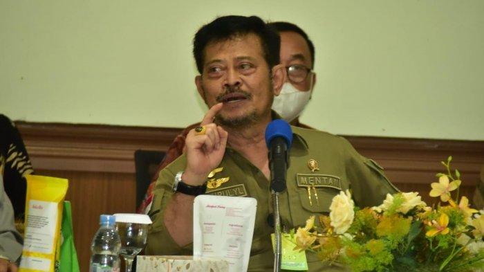 Tanggapi Wacana Pajak Sembako, Syahrul Yasin Limpo: Jangan Buat Petani Resah