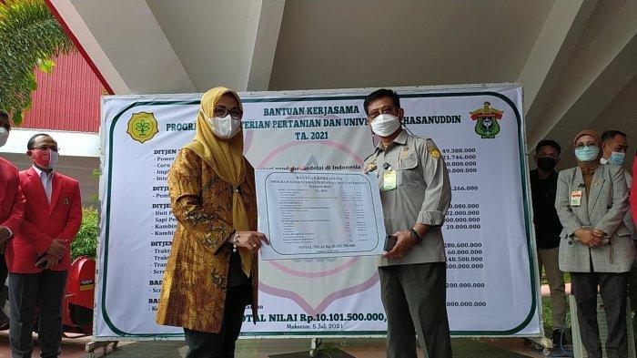 Mentan Syahrul Yasin Limpo Dukung Program Pertanian Unhas