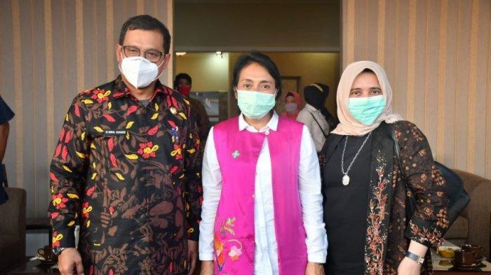 Kunjungan ke Luwu Utara, Menteri I Gusti Ayu Nginap di Hotel Bukit Indah Masamba
