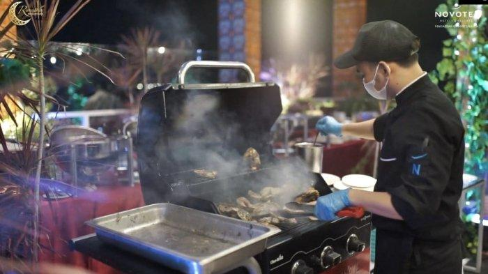 menu buka puasa di Novotel Makassar