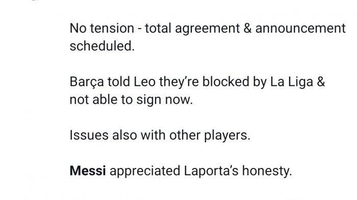 Messi batal gabung Barcelona karena aturan La Liga, PSG, Chelsea dan Man City langsung bergerak