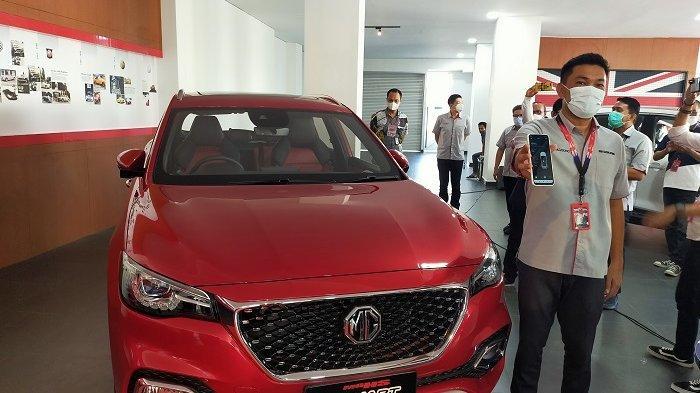 MG Luncurkan Mobil Pintar Berteknologi Otonom