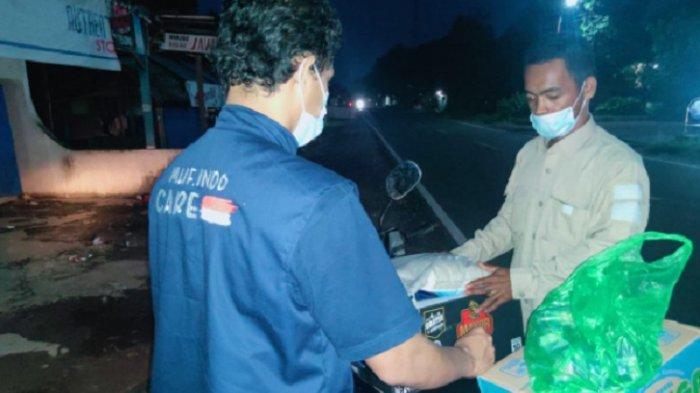 General Manager Muf Indonesia, Miftahul Khair salurkan bantuan untuk korban gempa di Sulbar