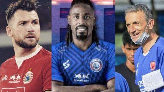 Bursa Pemain Liga 1 - Milo Tak Puas Aksi PSM, Target Carlos Fortes di Arema FC, Nilai Simic Anjlok